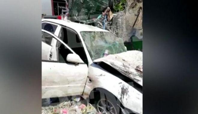 Τροχαίο με νεκρό στο Καματερό: Βγήκε να πετάξει τα σκουπίδια και τον χτύπησε αυτοκίνητο