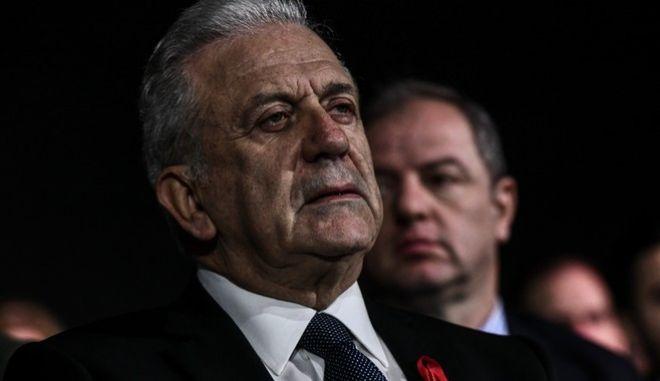 Ο Ευρωπαίος Επίτροπος στην Κομισιόν, Δημήτρης Αβραμόπουλος