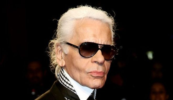 MILAN, ITALY - MARCH 02:  Karl Lagerfeld attends the Extreme Beauty In Vogue party at the Palazzina della Ragione during Milan Fashion Week Autumn/Winter 2009 on March 2, 2009 in Milan, Italy.  (Photo by Vittorio Zunino Celotto/Getty Images)   Original Filename: GYI0056885832.jpg