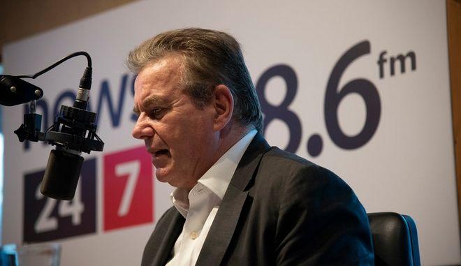 Ο Τάσος Πετρόπουλος στο ραδιόφωνο News 24/7 στους 88,6