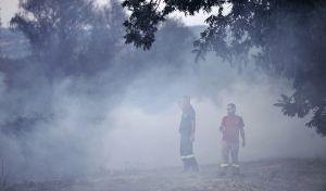 Κρήτη: Πυρκαγιά σε δύσβατη περιοχή της Κισσάμου Χανίων