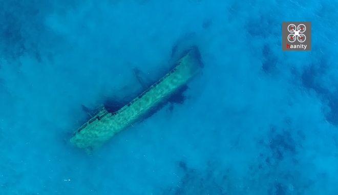 Καπτάν Ισμαήλ Χακί: Το απόκοσμο τούρκικο ναυάγιο στην άκρη της Ελλάδας