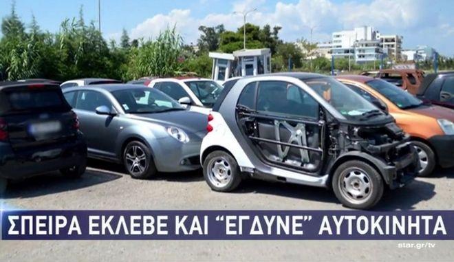 """Δείτε που καταλήγουν τα κλεμμένα αυτοκίνητα - Ποιά """"προτιμούν"""""""
