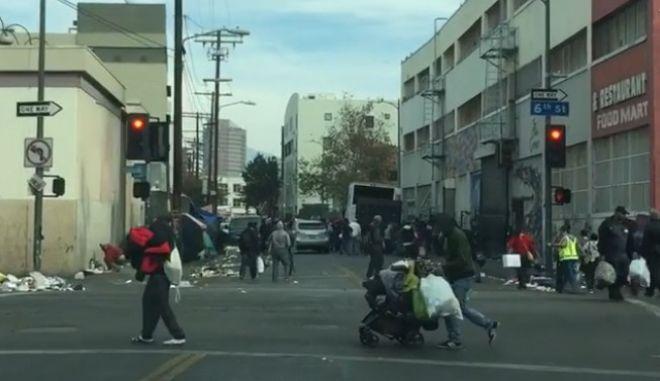 Λος Άντζελες: Η Πόλη των Αγγέλων, γίνεται πόλη των αστέγων