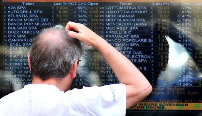 Μιλάνο: Βουτιά στο χρηματιστήριο. Σειρήνες κατά του όχι από τους FT