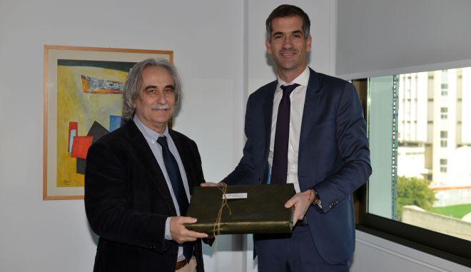Ο δήμαρχος Αθηναίων κ. Κώστας Μπακογιάννης στο Ευρωπαϊκό Πανεπιστήμιο Κύπρο