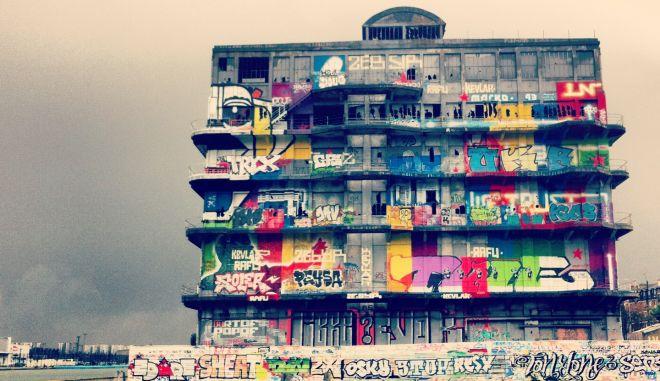 """Γκρεμίζουν τη """"Μέκκα"""" του γκράφιτι, για να φτιάξουν γραφεία"""