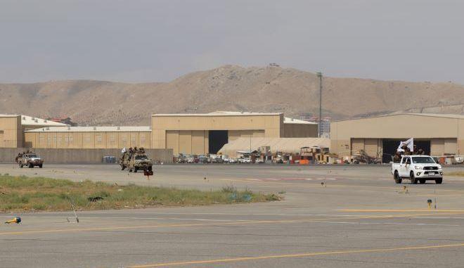 Οι Ταλιμπάν στο αεροδρόμιο της Καμπούλ