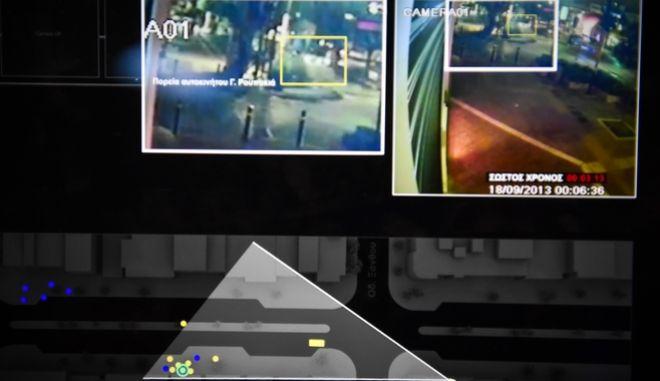 Καρέ από το βίντεο της έρευνας του Forensic Architecture για την δολοφονία του Παύλου Φύσσα