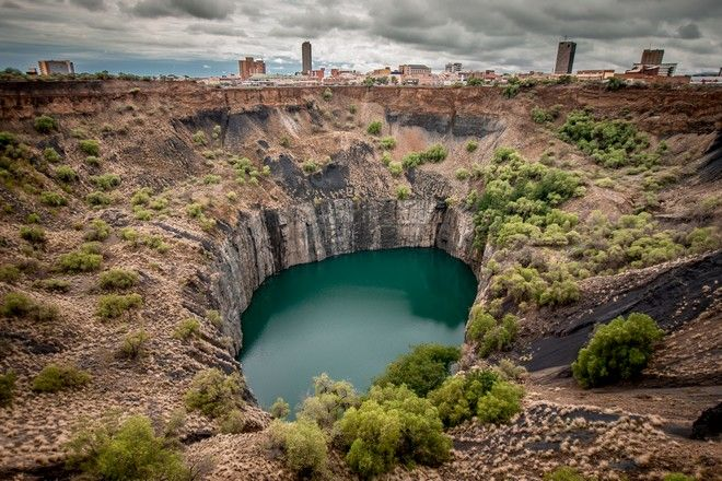 Η Μεγάλη Τρύπα στο Κίμπερλι της Νότιας Αφρικής