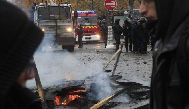 Διαδηλώσεις στο Παρίσι