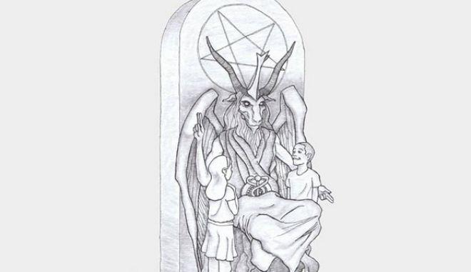 """Η """"αγκαλιά του Σατανά"""": Θέλουν ομοίωμά του έξω από το Καπιτώλιο"""