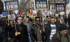 Γαλλία: Διαδηλώσεις Κούρδων κατά των τουρκικών επιχειρήσεων στο Αφρίν