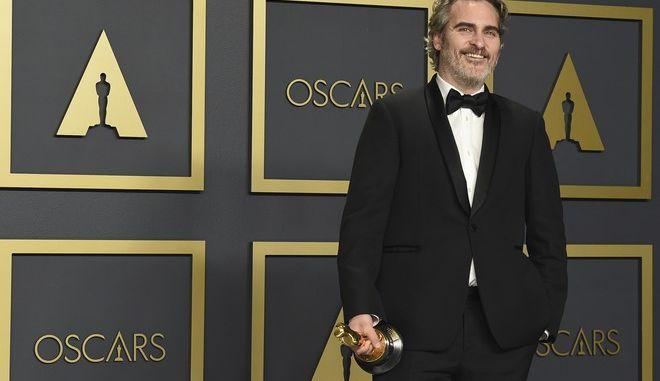 Ο Joaquin Phoenix, κέρδισε Όσκαρ Ά ανδρικού ρόλου για την ταινία Joker