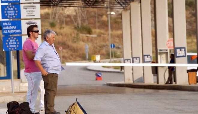 Ελληνοαλβανικά σύνορα. (EUROKINISSI // ΣΥΝΕΡΓΑΤΗΣ)