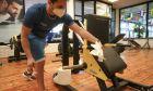 Γυμναστήριο στη Ρώμη σε καιρό κορονοϊού