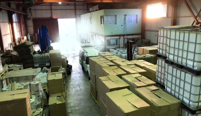 Εξαρθρώθηκε οργανωμένο κύκλωμα παρασκευής και λαθρεμπορίου τσιγάρων
