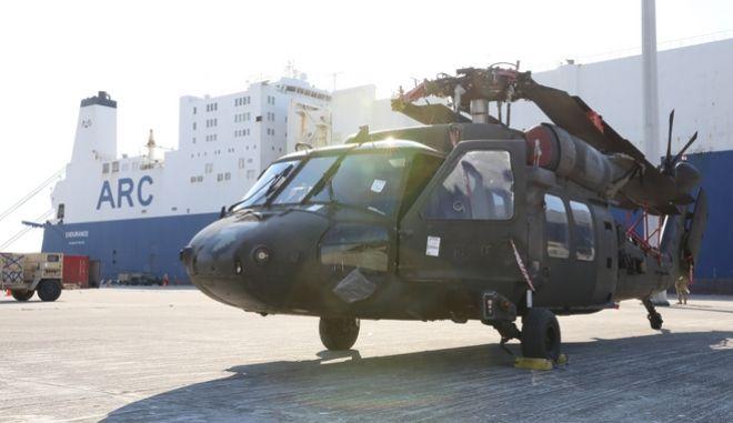 Ελικόπτερο στην Αλεξανδρούπολη
