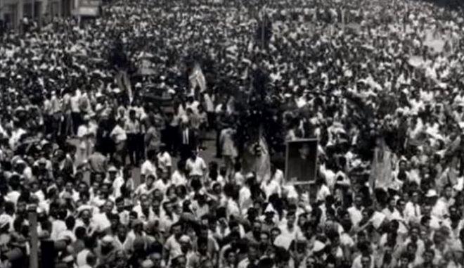 """Μουσικό """"οχι"""" στον φασισμό απο τη Φιλαρμονική του Δήμου Χαλανδρίου"""