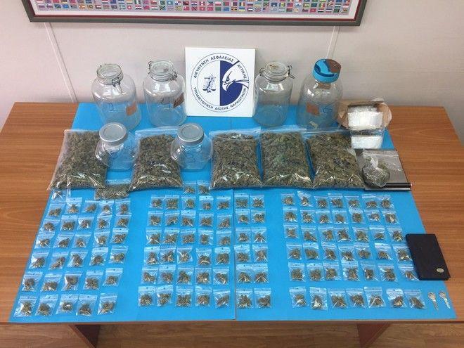 Επιχείρηση ΕΛ.ΑΣ. στα Εξάρχεια: Τρεις συλλήψεις, 68 προσαγωγές και κατάσχεση μεγάλης ποσότητας ναρκωτικών