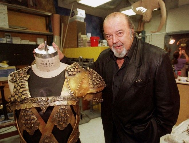 FILE- In this Sept. 6, 2000 file photo, Sir Peter Hall, director of the epic play