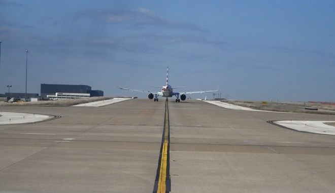 Στιγμιότυπο από το διεθνές αεροδρόμιο του Ντάλας