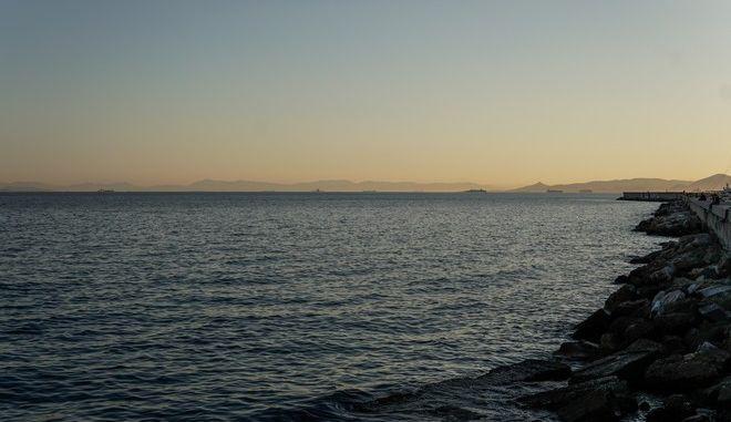 Στιγμιότυπο από την παραλία του Αλίμου