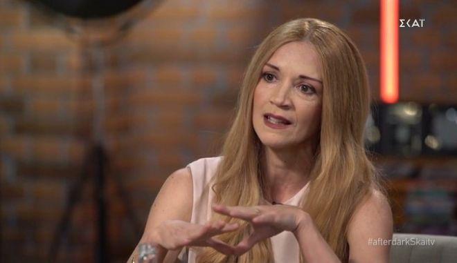Η ηθοποιός Ιωάννα Παππά