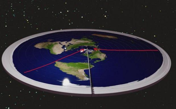 Τι θα γινόταν αν η Γη ήταν επίπεδη και μπορούσες να φτάσεις στην άκρη της