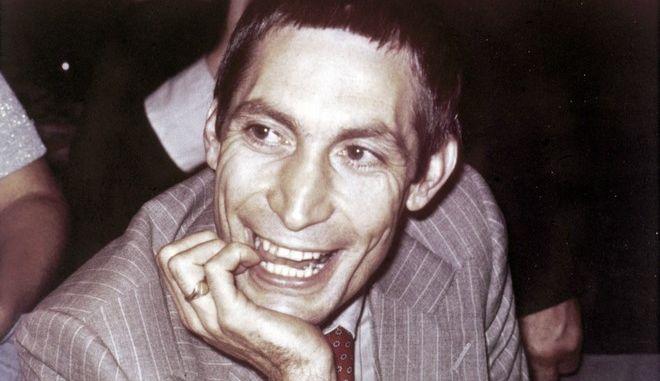 Ο Τσάρλι Γουότς το 1977