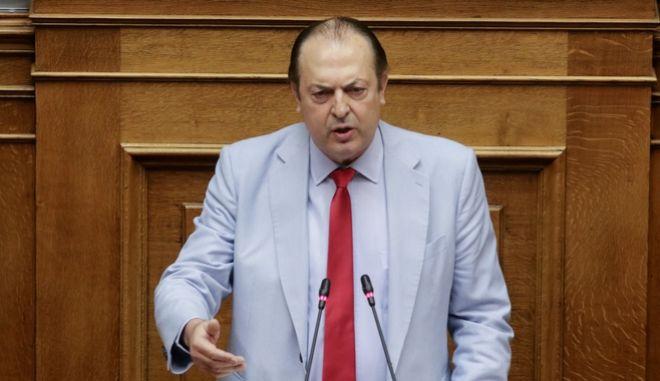 Ο βουλευτής Γιώργος Λαζαρίδης
