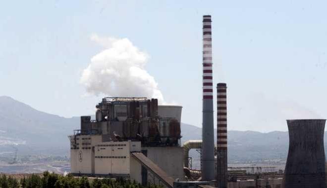 27-7-2011-ΜΕΓΑΛΟΠΟΛΗ-το Λιγνιτικό Κέντρο της ΔΕΗ.(EUROKINISSI-ΒΑΣΙΛΗΣ ΠΑΠΑΔΟΠΟΥΛΟΣ)