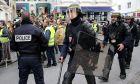 H γαλλική αστυνομία σε κινητοποίηση των γιλέκων