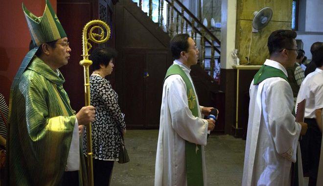 Ιστορική συμφωνία Βατικανού - Κίνας για τους επισκόπους