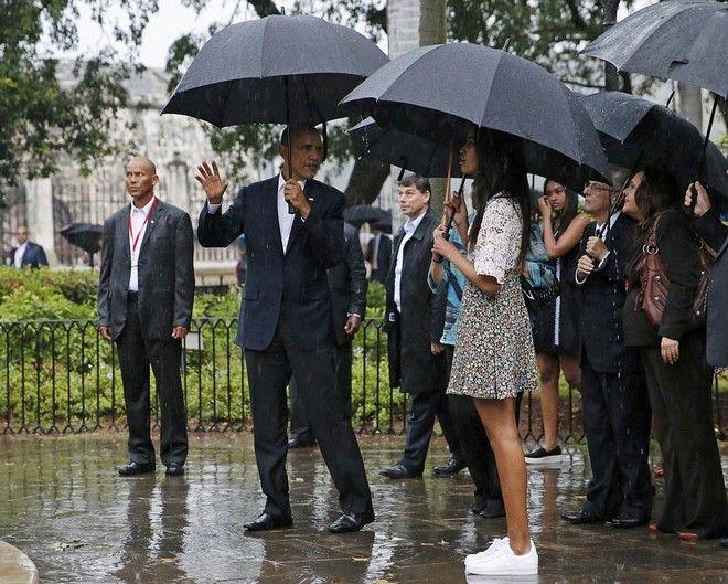 Φωτογραφίες: Η ιστορική επίσκεψη Ομπάμα στην Κούβα