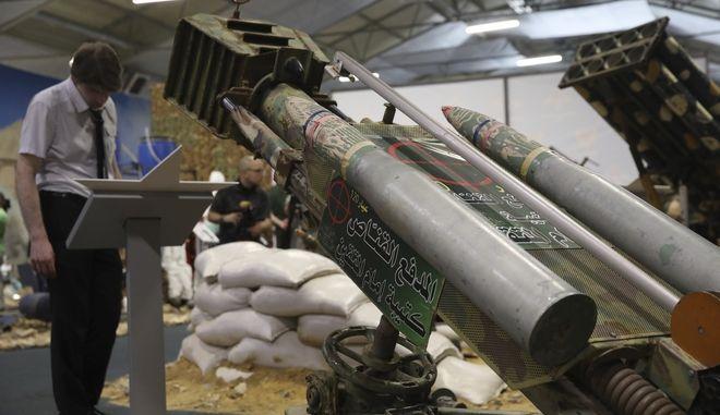 Πύραυλοι στη Συρία