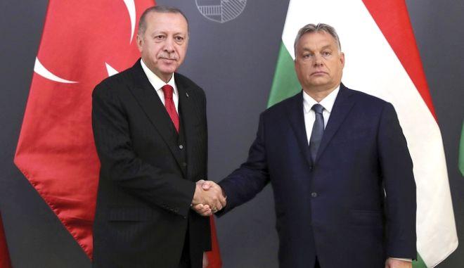 Από τη συνάντηση Ορμπαν-Ερντογάν