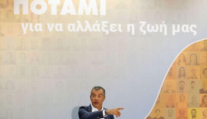 Ο Σταύρος Θεοδωράκης στην 83η ΔΕΘ