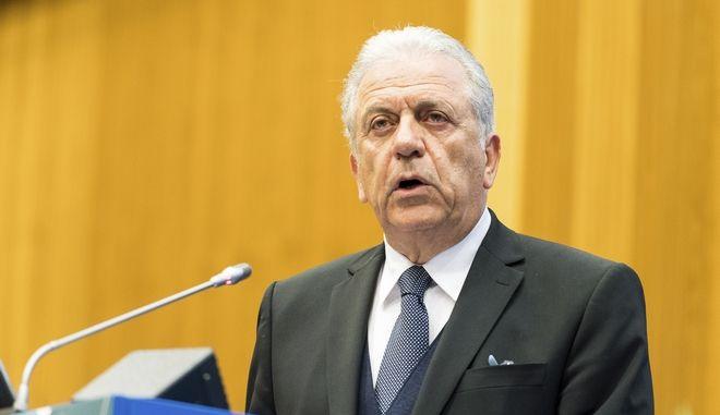 Δημήτρης Αβραμόπουλος, επίτροπος Μετανάστευσης της Ευρωπαϊκής Ένωσης.