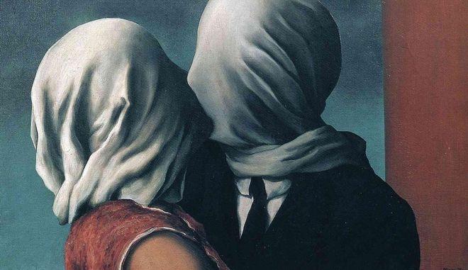 The lovers (Les amants) του Ρενέ Μαγκρίτ 1928