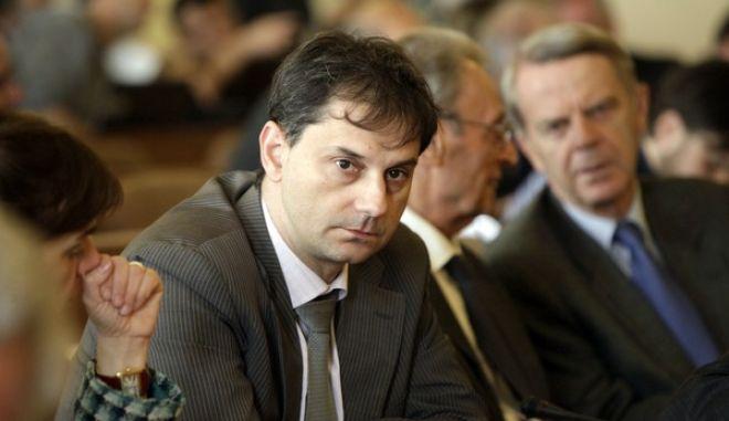 Εκδήλωση της Τράπεζας της Ελλάδας όπου ο Γενικός Γραμματέας του Οργανισμού για την Οικονομική Συνεργασία και την Ανάπτυξη (ΟΟΣΑ) Ανχελ Γκουρία παρουσίασε μελέτη του ΟΟΣΑ για την Ελλάδα. (EUROKINISSI/ΓΕΩΡΓΙΑ ΠΑΝΑΓΟΠΟΥΛΟΥ)