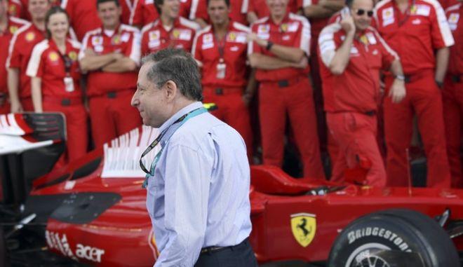 Ζαν Τοντ, ο Γάλλος πρόεδρος της Διεθνούς Ομοσπονδίας Αυτοκινήτου (FIA) και πρώην αρχηγός της Ferrari.