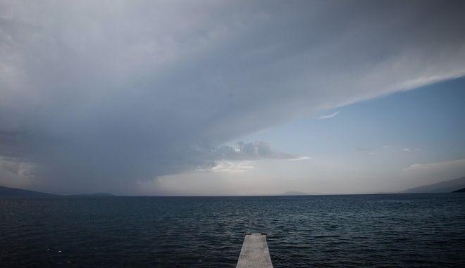 Καταιγίδα στον Παγασητικό Κόλπο