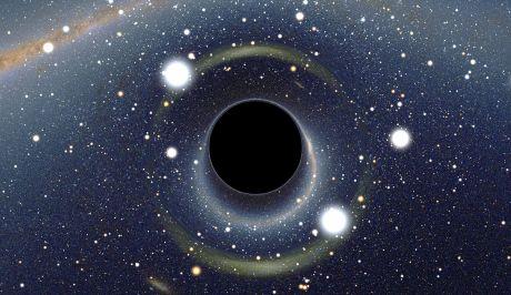 Τρίο τεράστιων μαύρων τρυπών για πρώτη φορά