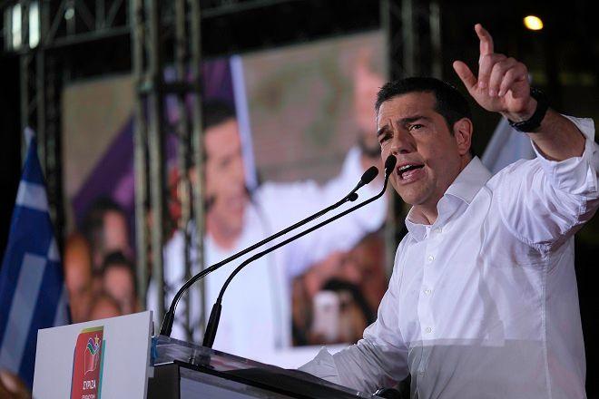 Εκλογές 2019: Ομιλία Τσίπρα στο Σύνταγμα