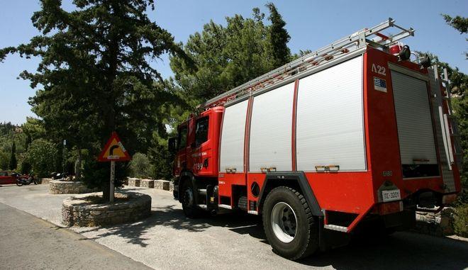 Πυροσβεστικό όχημα σε ετοιμότητα