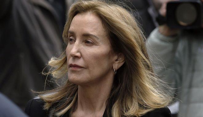 Η ηθοποιός Φελίσιτι Χάφμαν