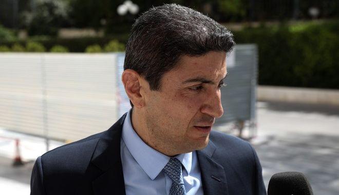 Ο υφυπουργός Αθλητισμού Λευτέρης Αυγενάκης