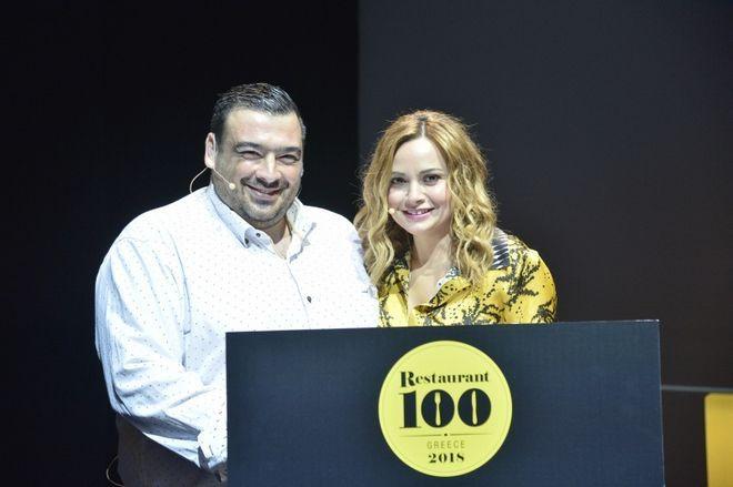 Ο σεφ Βησσαρίων Παρθένης και η Food Blogger, Θέμις Καρδιόλακα παρουσίασαν τα αποτελέσματα της ψηφοφορίας Restaurant 100