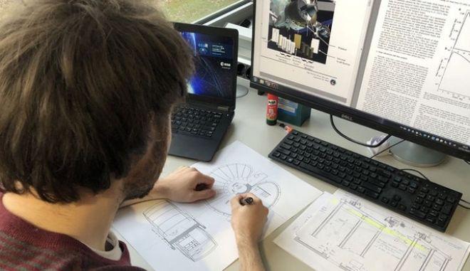 Ευρωπαϊκή βάση στη Σελήνη οραματίζεται ο φοιτητής του ΕΜΠ